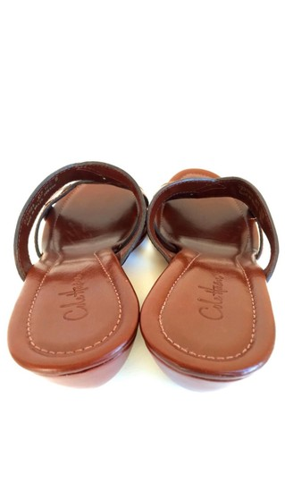 Cole Haan Brown Leather Sandals Image 7