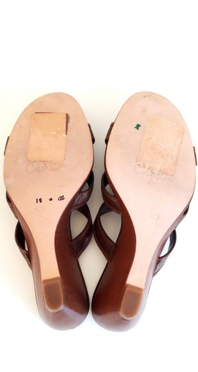 Cole Haan Brown Leather Sandals Image 9