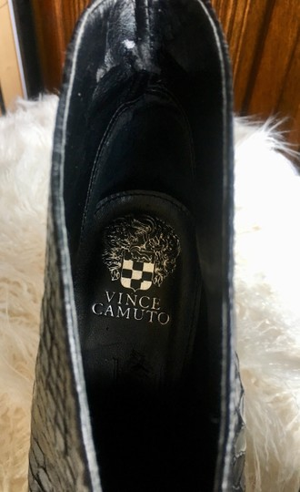 Vince Camuto Black Leather Boots Image 3