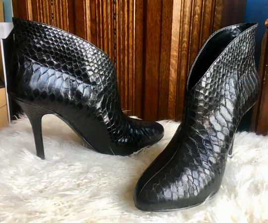 Vince Camuto Black Leather Boots Image 9