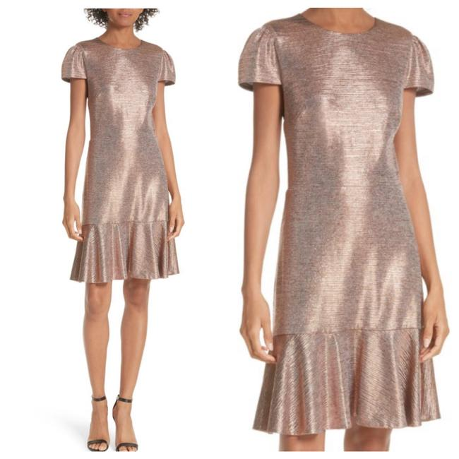 Preload https://img-static.tradesy.com/item/25432811/alice-olivia-imani-metallic-rose-gold-ruffle-hem-mid-length-cocktail-dress-size-8-m-0-0-650-650.jpg