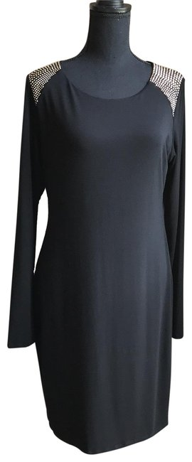 Preload https://img-static.tradesy.com/item/25432813/vince-camuto-black-women-s-shift-mid-length-short-casual-dress-size-14-l-0-1-650-650.jpg