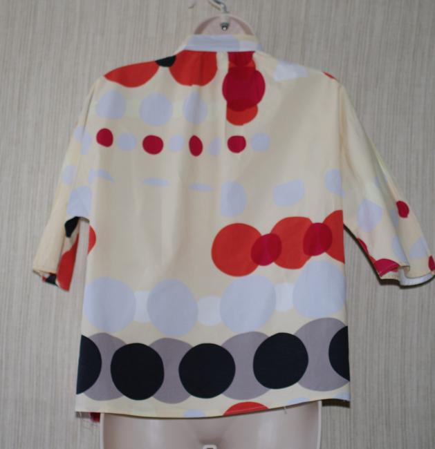La Via 18 Button Down Shirt multi color Image 2