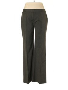 Halogen Wide Leg Relaxed Trouser Pants Gray