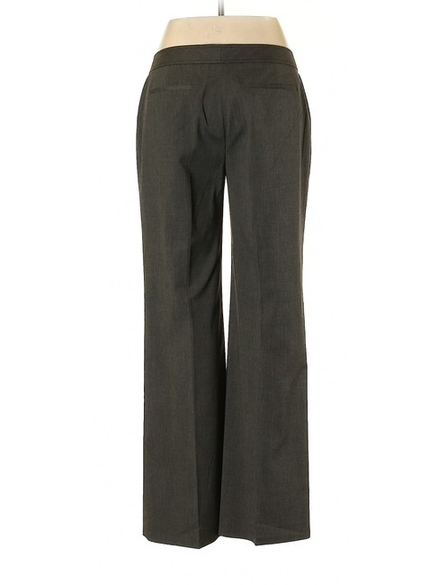 Halogen Wide Leg Relaxed Trouser Pants Gray Image 1