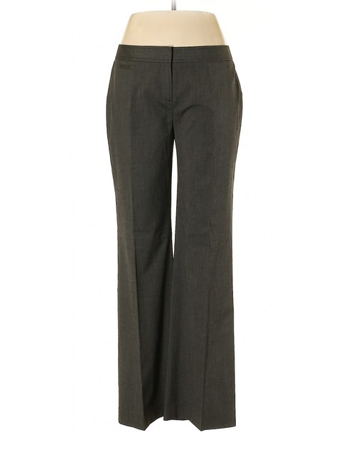 Halogen Wide Leg Relaxed Trouser Pants Gray Image 2
