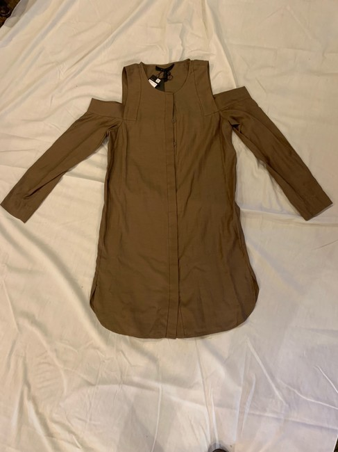 BCBGMAXAZRIA short dress brown on Tradesy Image 1