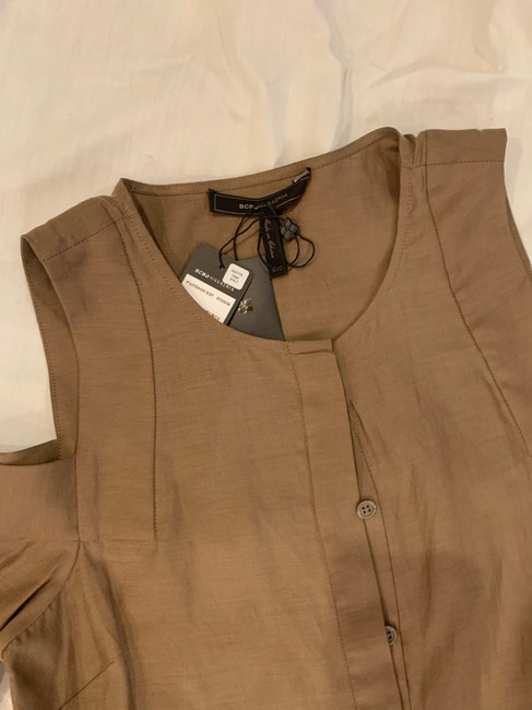 BCBGMAXAZRIA short dress brown on Tradesy Image 2
