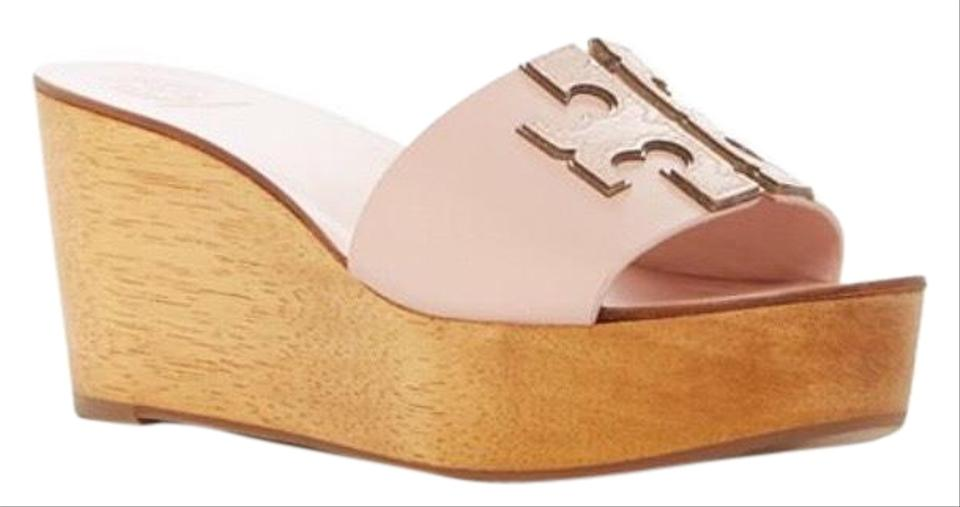 9db8ec2c8f Pink Tory Burch Wedges Up to 90% off at Tradesy