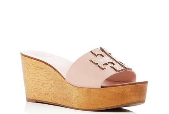 Tory Burch SEA SHELL PINK Wedges Image 1