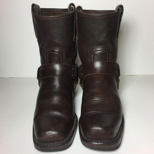 Frye Harness 77450 Women Size 7.5 Brown Boots Image 1