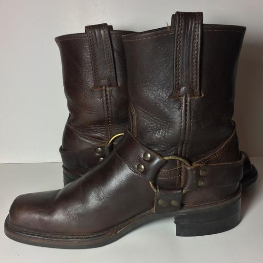 Frye Harness 77450 Women Size 7.5 Brown Boots Image 2