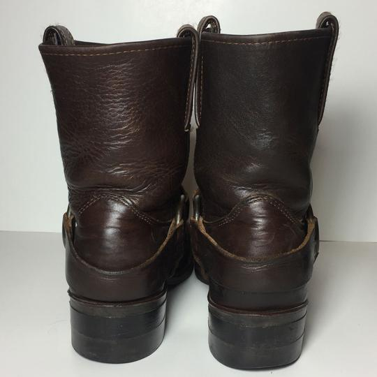 Frye Harness 77450 Women Size 7.5 Brown Boots Image 6