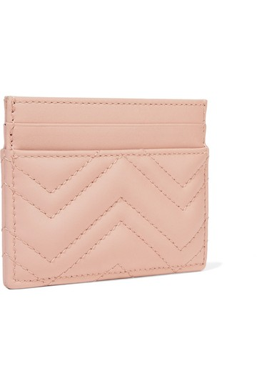 Gucci marmont quilted leather card holder Image 1
