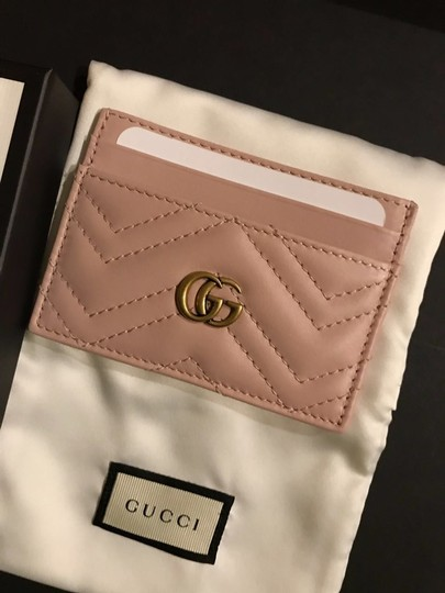 Gucci marmont quilted leather card holder Image 2
