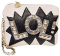 Betsey Johnson White Clutch Image 0