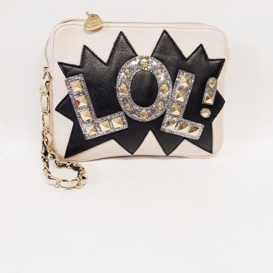 Betsey Johnson White Clutch Image 4