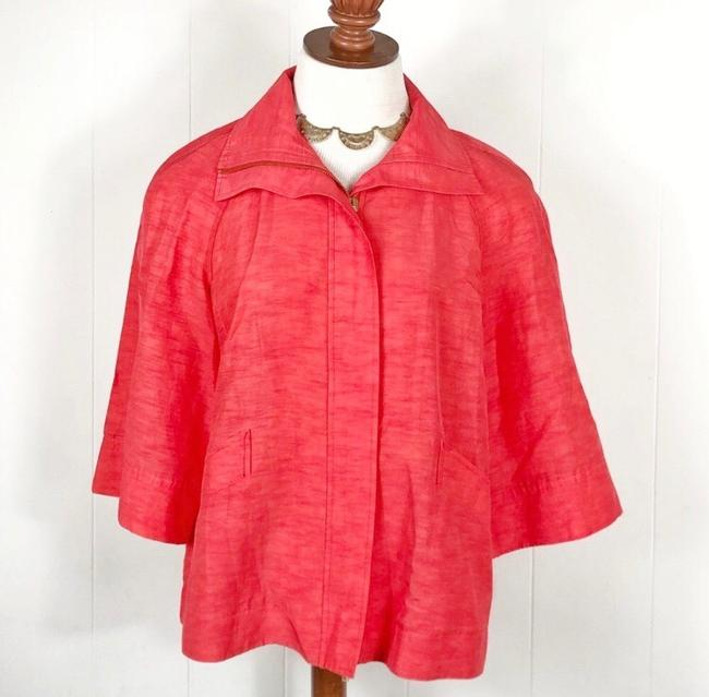 Lafayette 148 New York Red Jacket Image 1