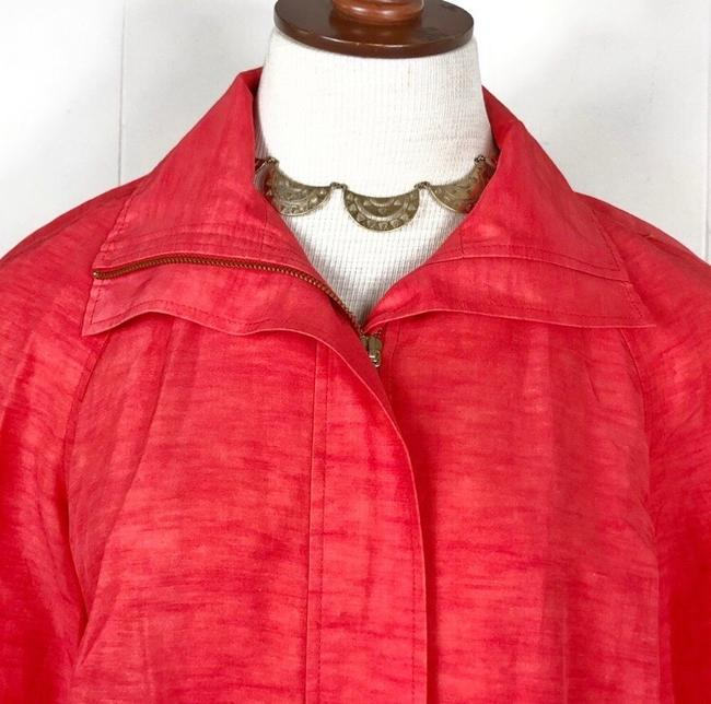 Lafayette 148 New York Red Jacket Image 2
