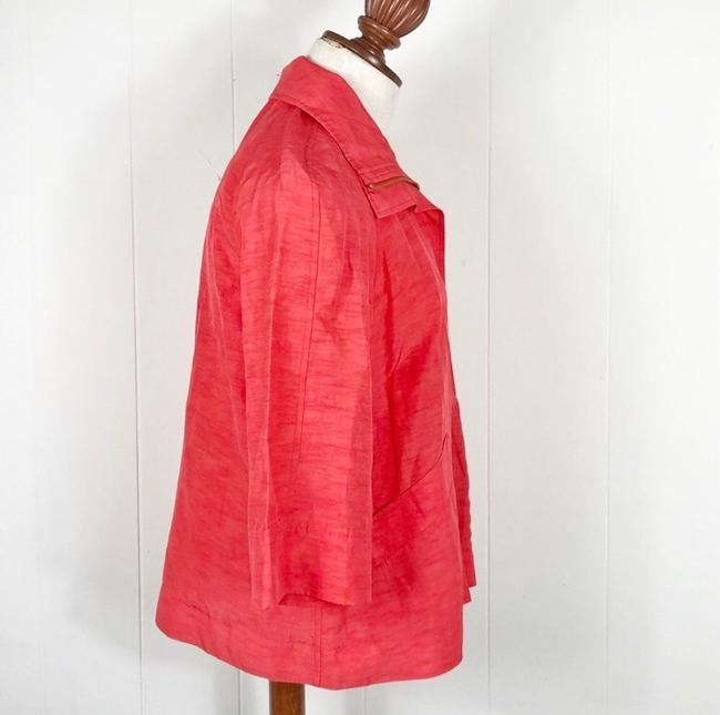 Lafayette 148 New York Red Jacket Image 3