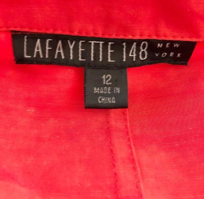 Lafayette 148 New York Red Jacket Image 5