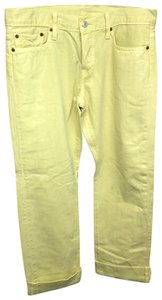 Levi's Jeans Straight Pants YELLOW