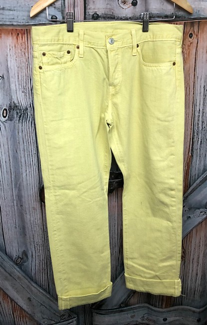 Levi's Jeans Straight Pants YELLOW Image 1