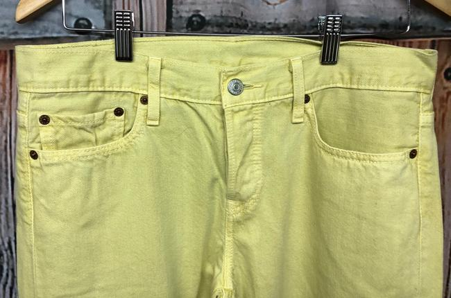 Levi's Jeans Straight Pants YELLOW Image 2