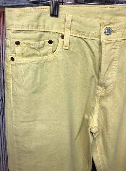 Levi's Jeans Straight Pants YELLOW Image 3