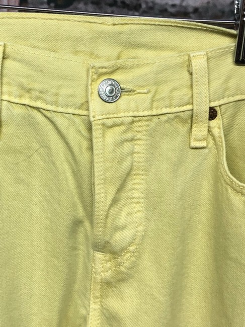 Levi's Jeans Straight Pants YELLOW Image 4