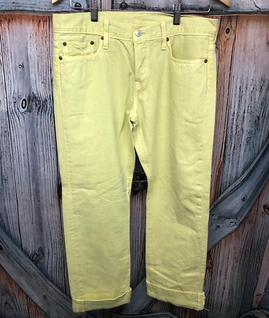 Levi's Jeans Straight Pants YELLOW Image 5
