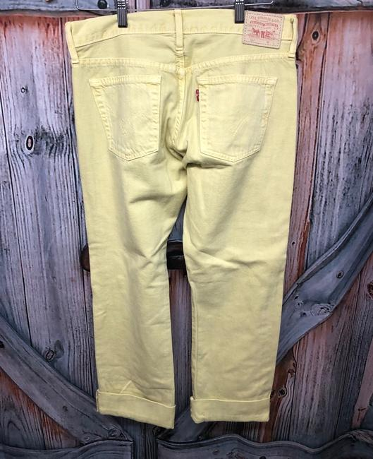 Levi's Jeans Straight Pants YELLOW Image 6
