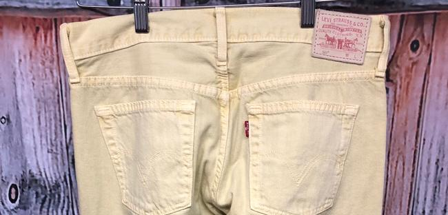 Levi's Jeans Straight Pants YELLOW Image 7