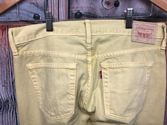 Levi's Jeans Straight Pants YELLOW Image 8