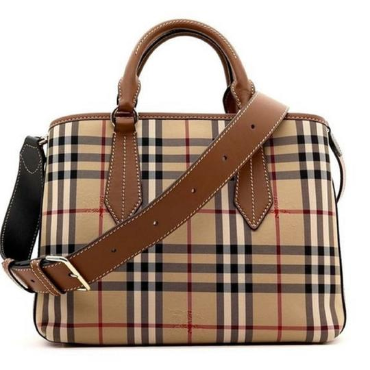 Preload https://img-static.tradesy.com/item/25433122/burberry-with-tag-creambrown-satchel-0-0-540-540.jpg