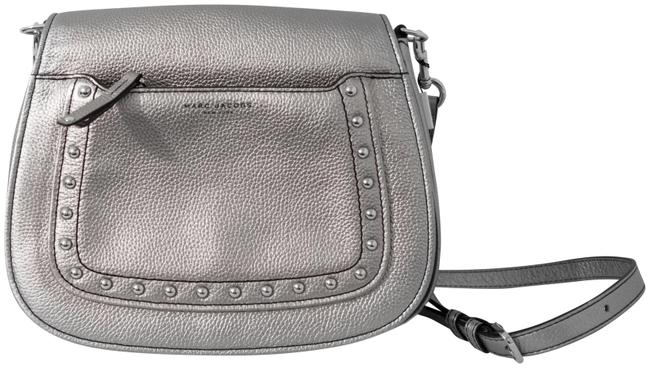 Item - Empire City Silver Leather Messenger Bag