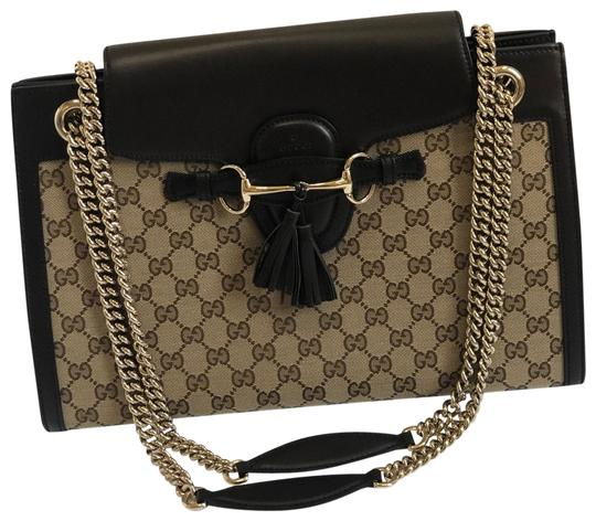 Preload https://img-static.tradesy.com/item/25433145/gucci-hobo-emily-large-metallic-canvasleather-brown-canvas-leather-shoulder-bag-0-1-540-540.jpg