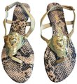 Moschino Tan Beige Sandals Image 0