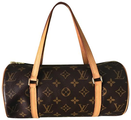 Preload https://img-static.tradesy.com/item/25433166/louis-vuitton-papillon-26-cm-brown-coated-canvas-and-leather-baguette-0-1-540-540.jpg