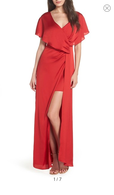 Preload https://img-static.tradesy.com/item/25433219/keepsake-the-label-red-uncovered-gown-long-formal-dress-size-12-l-0-1-650-650.jpg