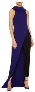 Brandon Maxwell Top Purple and blue