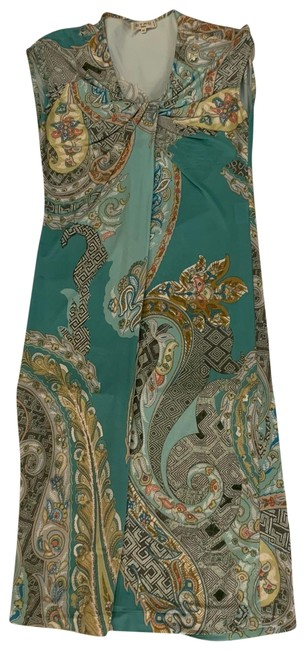 Item - Multicolor Milano Mid-length Short Casual Dress Size 2 (XS)