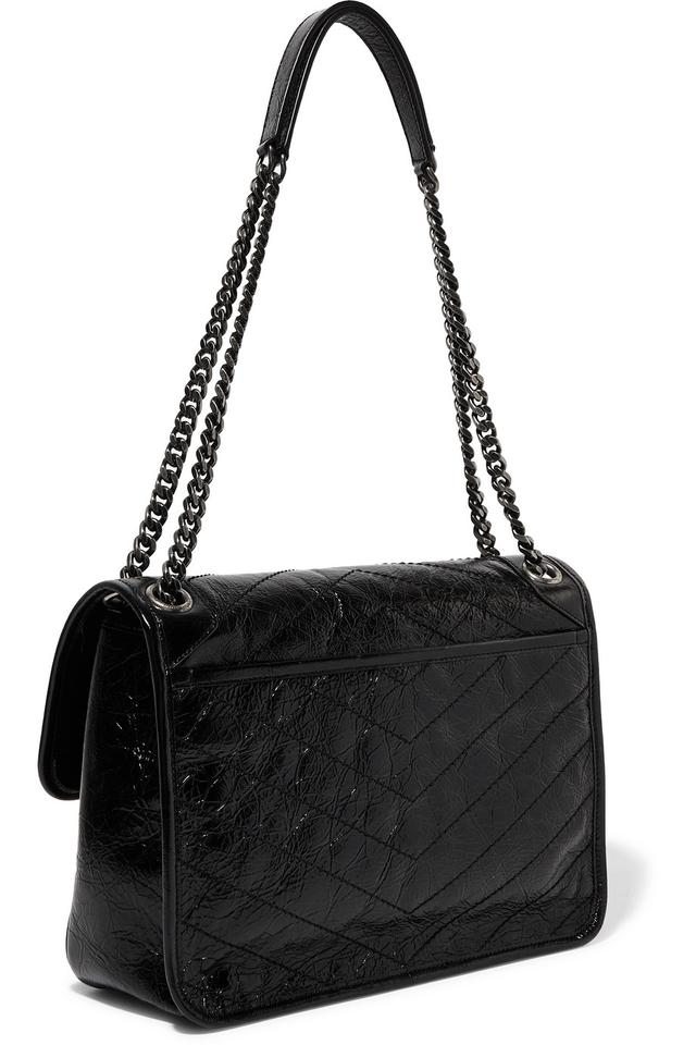 Saint Laurent Shoulder Bag Ysl Monogram Medium Niki Chain