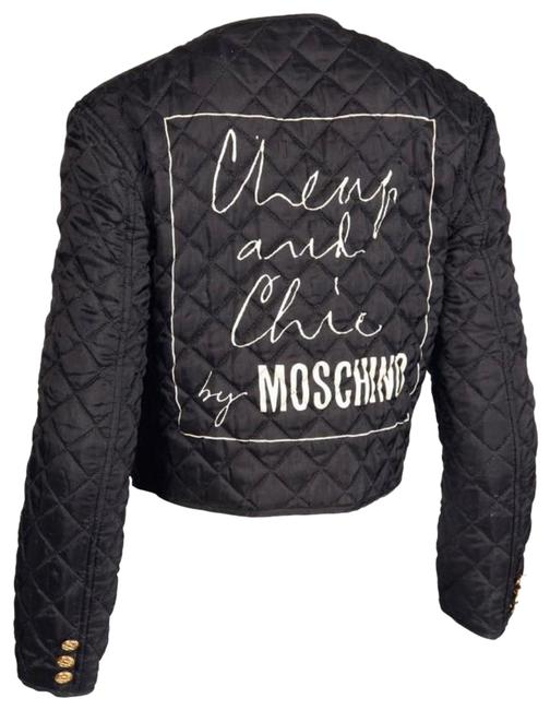 Item - Black Rare Quilted Jacket Size 2 (XS)