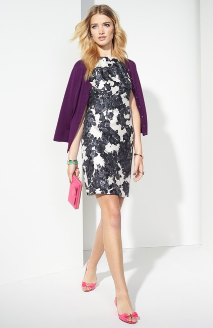 Kate Spade Floral Abstract Sleeveless Dress Image 1
