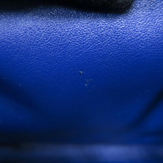 Céline Medium Luggage Phantom Suede Tote in Cobalt Image 9