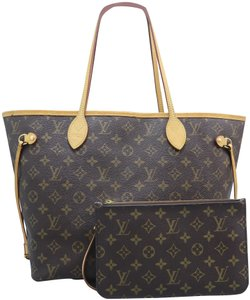Louis Vuitton Lv Neverfull Mm Canvas Shoulder Bag