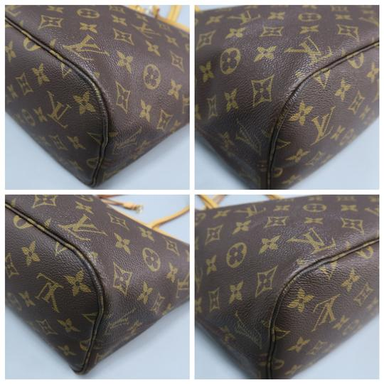 Louis Vuitton Lv Neverfull Mm Canvas Shoulder Bag Image 4