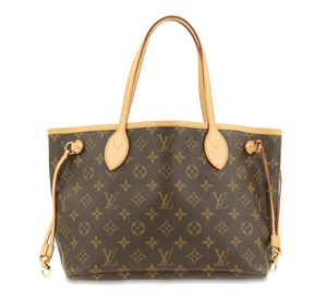Louis Vuitton Lv Monogram Neverfull Pm Tote in Brown