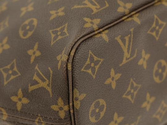 Louis Vuitton Lv Monogram Neverfull Pm Tote in Brown Image 3